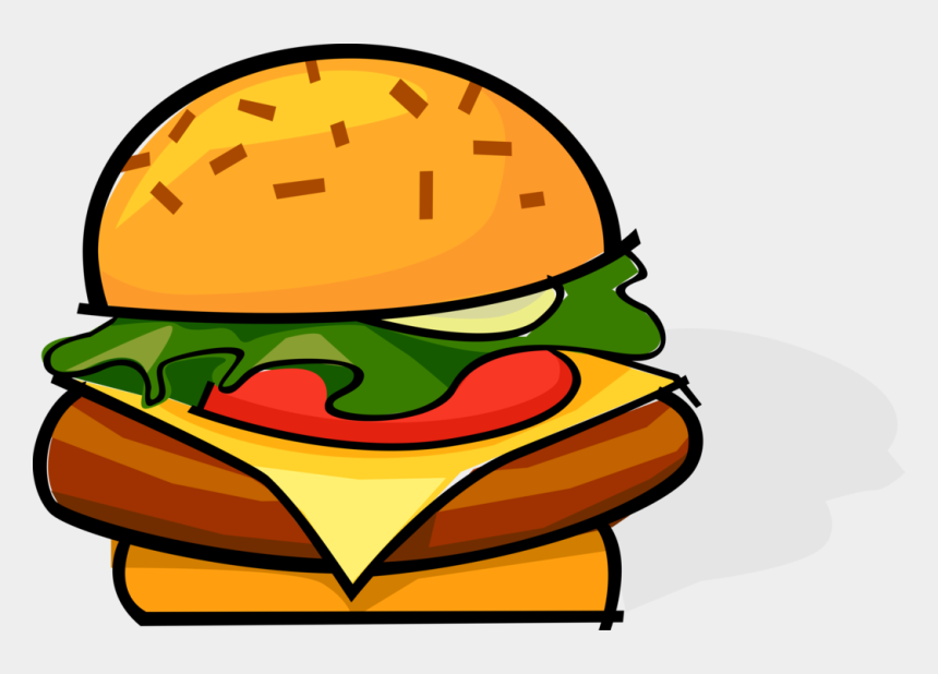 hamburgers clipart, Cartoons - Vector Hamburger Burger - Food Chemical Potential Energy