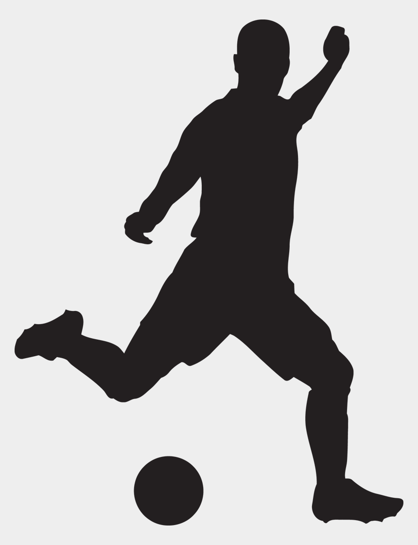play soccer clipart, Cartoons - Footballer Vector Football Action - Soccer Clipart