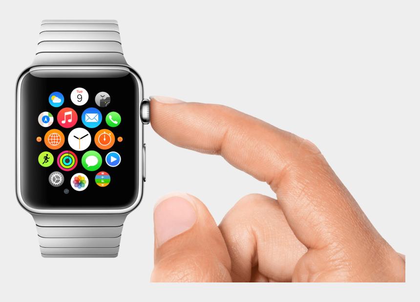 open pocket watch clipart, Cartoons - Apple Watch User - Does The Apple Watch Work