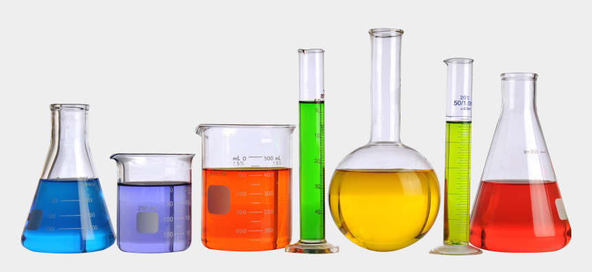 science beakers and test tubes clipart, Cartoons - Beaker Science Png - Chemistry Lab Equipment Png