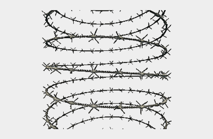 barb wire clipart, Cartoons - Barb Wire Clipart Transparent Background - Transparent Background Barbed Wire Png