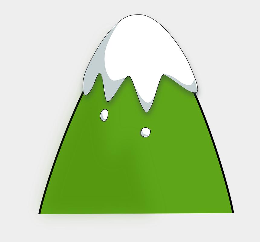 climb clipart, Cartoons - Green Mountain Clipart