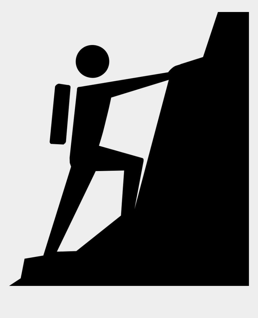 climb clipart, Cartoons - Mountain Climbing Comments - Climbing A Mountain Clipart