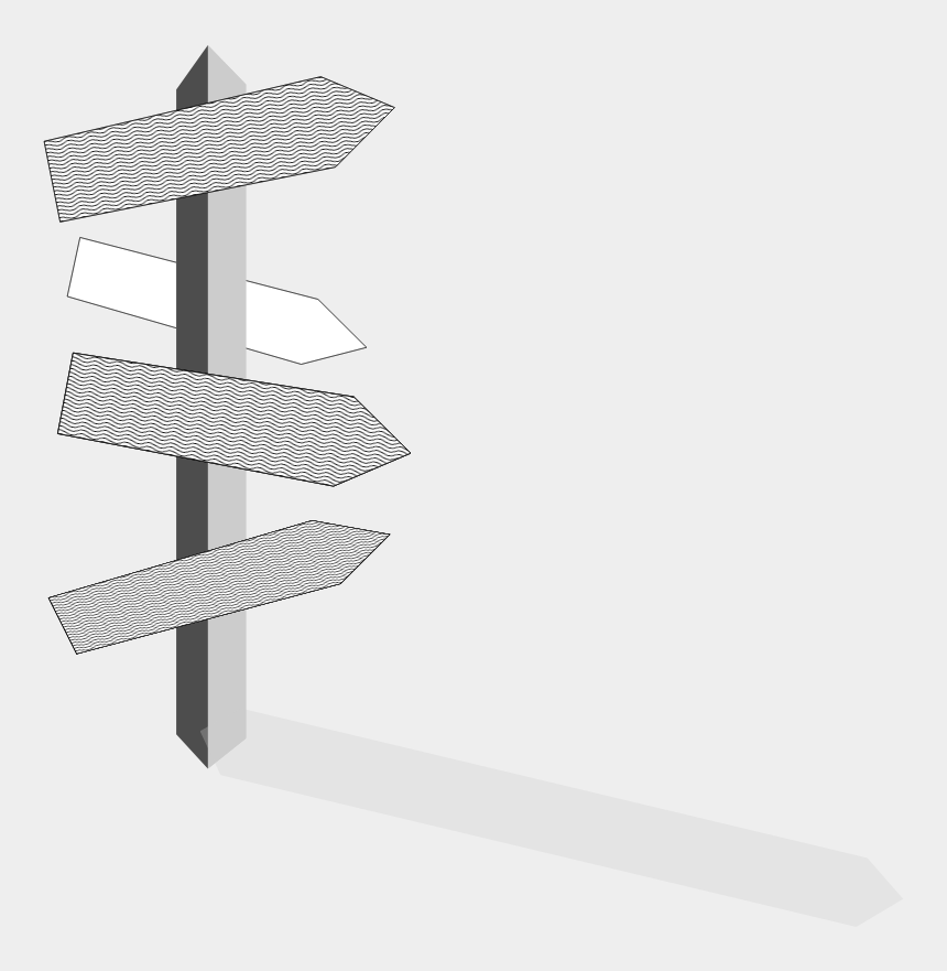 sign post clipart, Cartoons - Sign Post