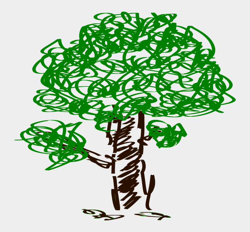 chalk drawing clipart, Cartoons - Tree Pencil Artwork Drawing Picture - Tree Clip Art