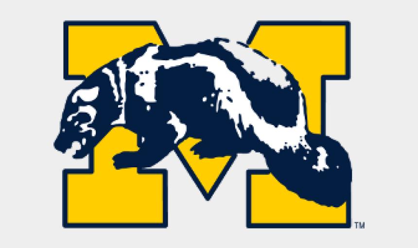wolverine clipart, Cartoons - University Of Michigan Wolverine Logo
