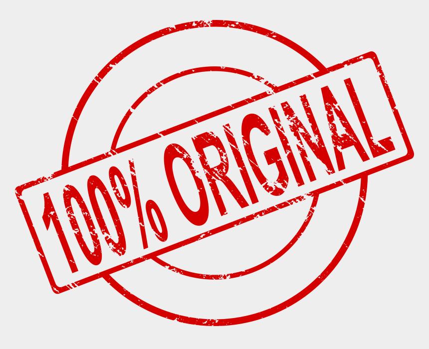 percent clipart, Cartoons - 100 Percent Original Stamp - 100 Original Png