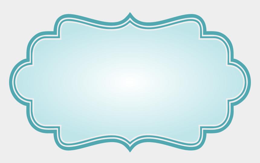 bracket frame clipart, Cartoons - Frames Para Montagens Digitais - Blue Bracket Frame Png