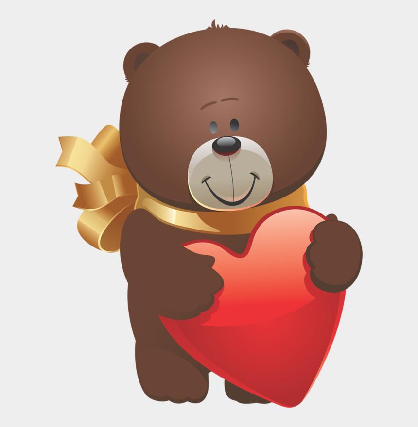 bear hug clipart, Cartoons - Teddy Bear - Valentine's Day Cartoon Animals