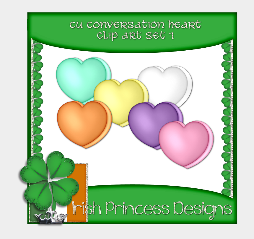 conversation heart clipart, Cartoons - Candy Cane Heart Clipart Candy Heart Clip Art - Heart