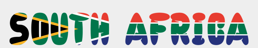 impact clipart, Cartoons - Recently It Has Become Popular For The White Population - South Africa Flag Fill Africa