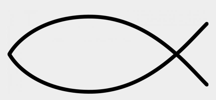 christian fish symbol clipart, Cartoons - Christian Fish Symbol Clip Art - Fish Sign Christian