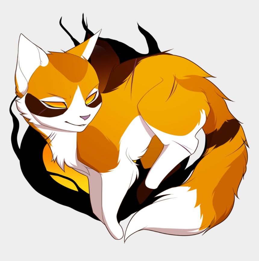 warriors clipart, Cartoons - Warriors Sticker - Chibi Drawing Warrior Cats