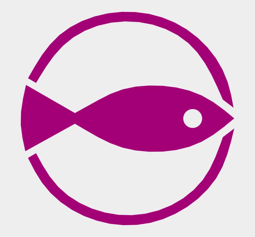christian fish symbol clipart, Cartoons - Fish Maritime Nautical Symbol Design Nature - Fishing Symbol