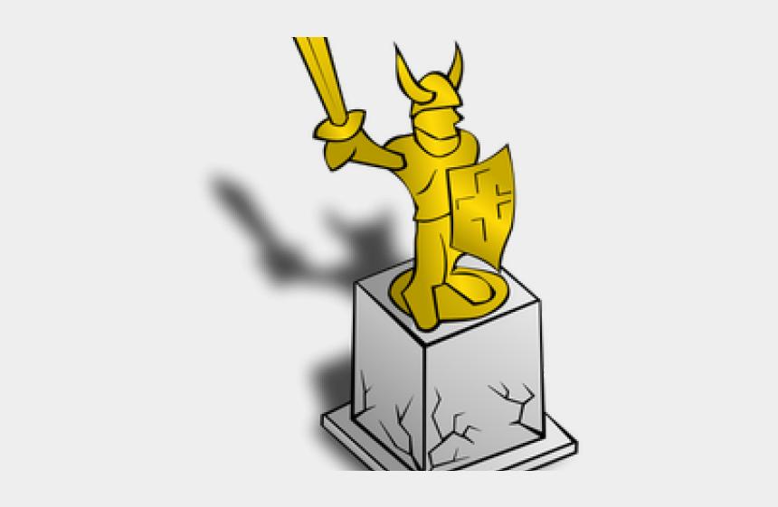 christian fish symbol clipart, Cartoons - Clip Art Statue