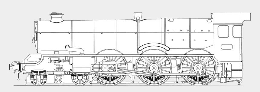 steam locomotive clipart, Cartoons - Drawing Steam Engine Transparent Png Clipart Free Download - Steam Train Engine Drawing