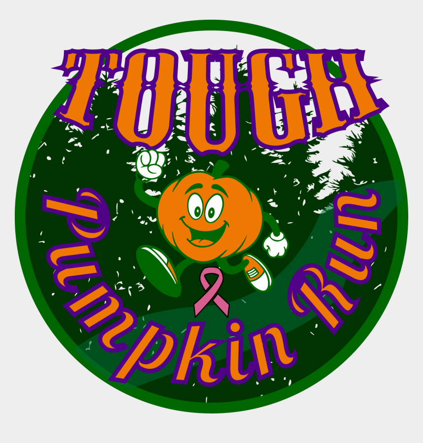 crossing the finish line clipart, Cartoons - Challenge Yourself By Carrying A Pumpkin To The Finish