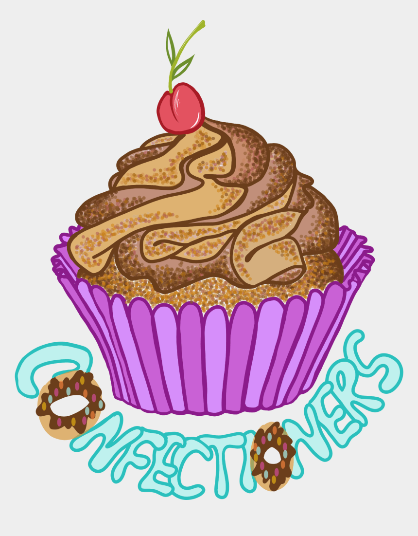 baking utensils clipart, Cartoons - Cupcake