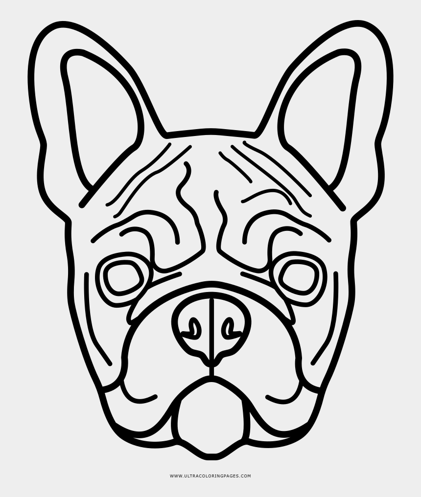 Explore Popular Coloring Pages - French Bulldog Colouring ...