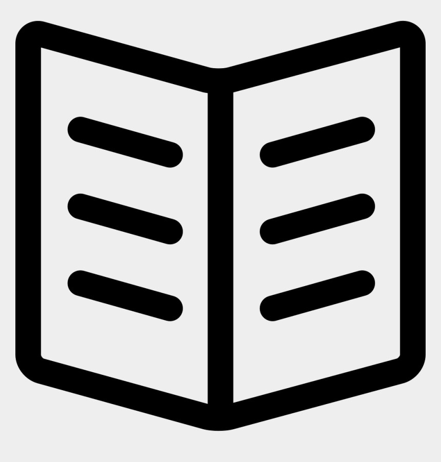 open book outline clipart, Cartoons - Open Book Comments - Open Book Icon Svg