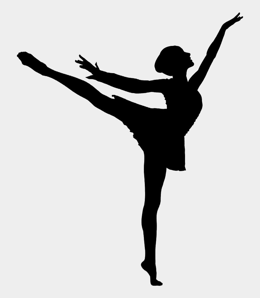 dancer clipart black and white, Cartoons - Transparent Dancer African American - Ballet Dancer Silhouette Png
