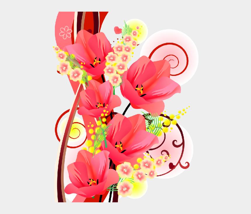 flower power clipart, Cartoons - Flower Powerflower Frameclip - Анимации Картинки О Цветах На Прозрачном Фоне