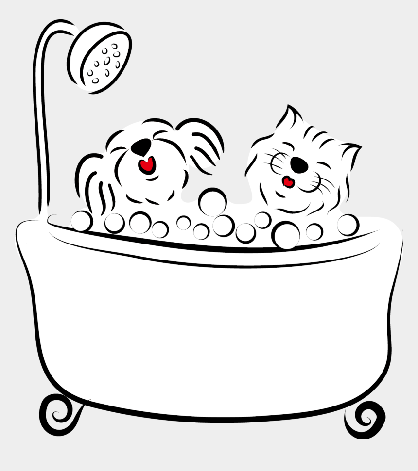 puppy clip art, Cartoons - 1186 X 1284 6 - Dog Draw Bath