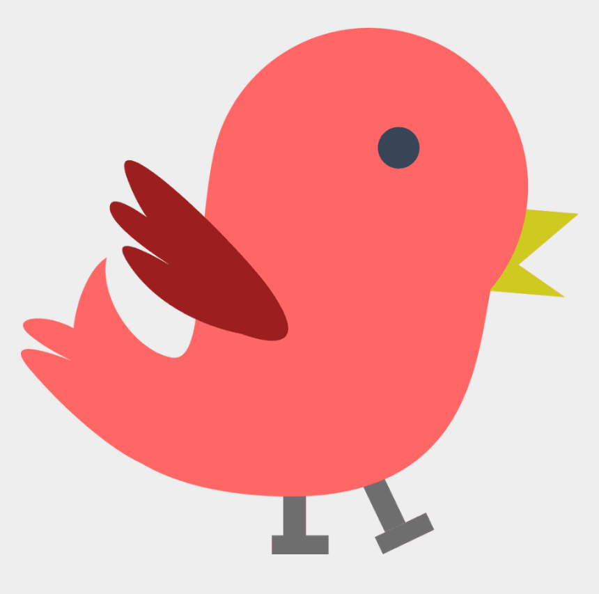 cardinal clipart, Cartoons - Red Bird Clipart - Baby Bird Clipart