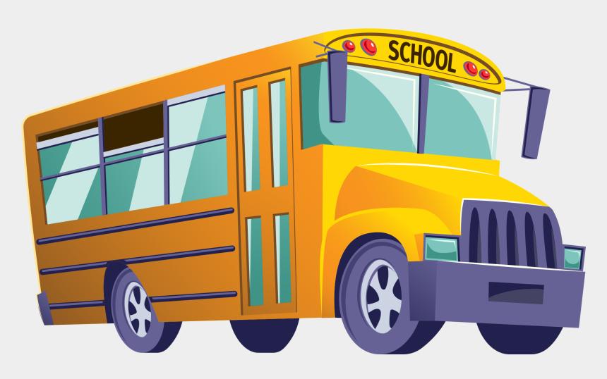 bus clip art, Cartoons - Bus Clipart
