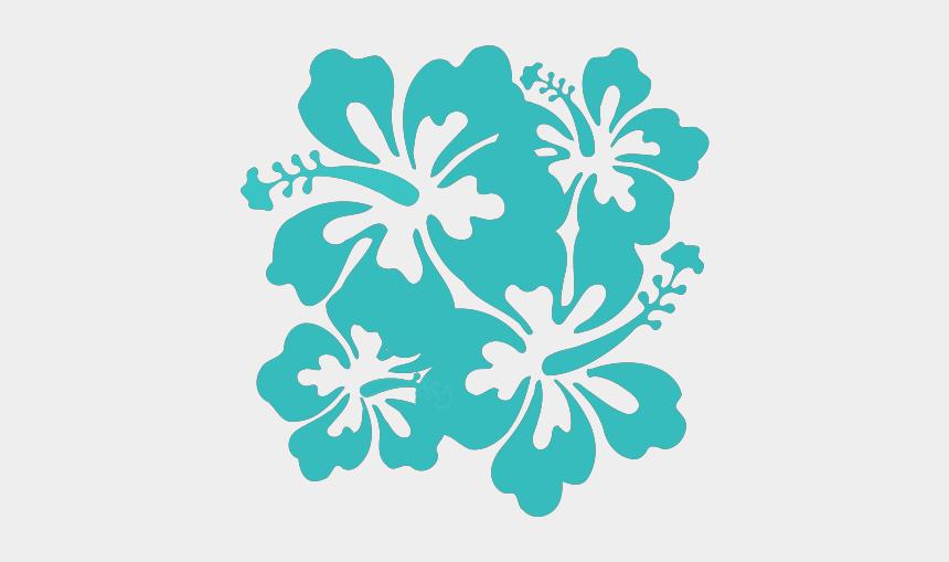 hibiscus clipart, Cartoons - Hibiscus Svg Clip Arts 588 X 598 Px - Hawaii Flower Clip Art