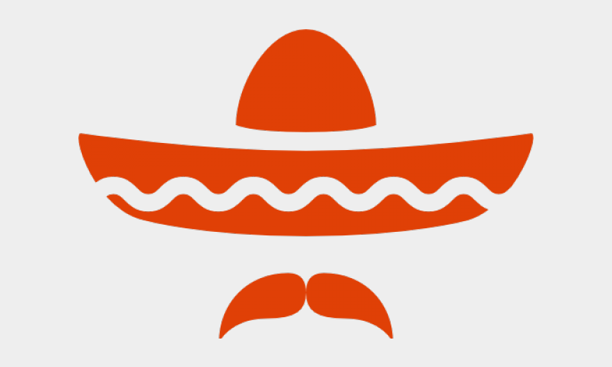 sombrero clip art, Cartoons - Sombrero And Mustache Svg
