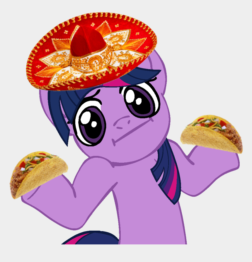 sombrero clip art, Cartoons - My Little Pony Sombrero Clipart , Png Download - Twilight Sparkle I Don T Know