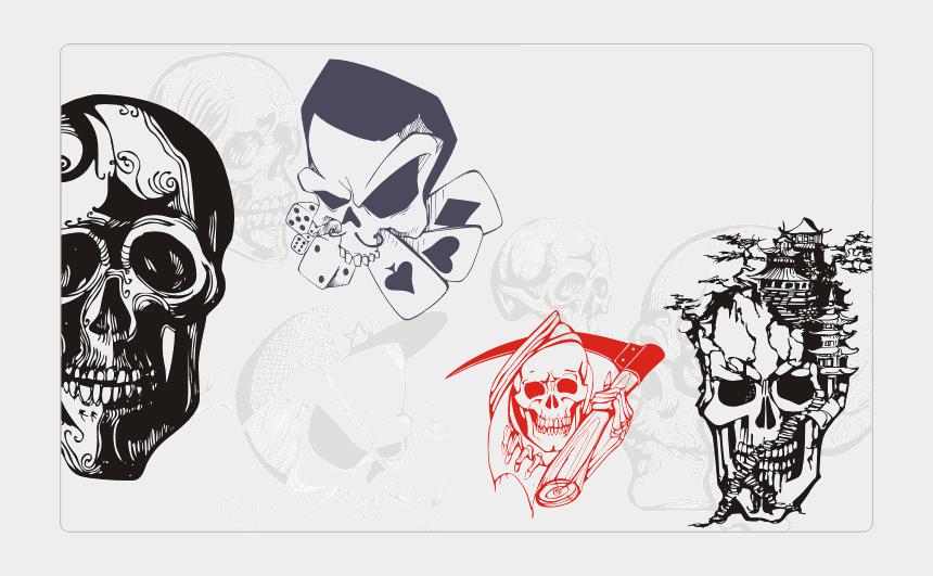 skull clip art, Cartoons - Skull Tattoos