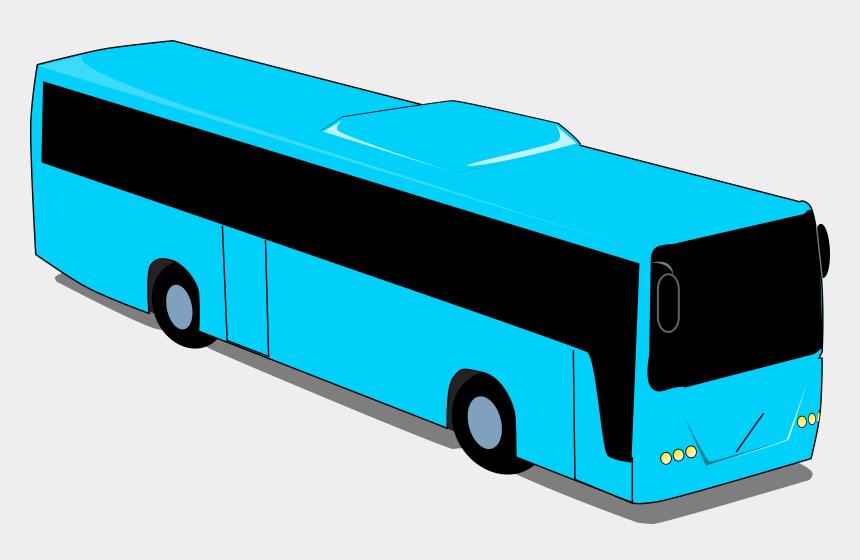 bus clip art, Cartoons - Tour Bus Clip Art