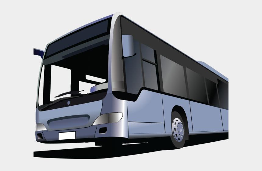 bus clip art, Cartoons - Bus Vector