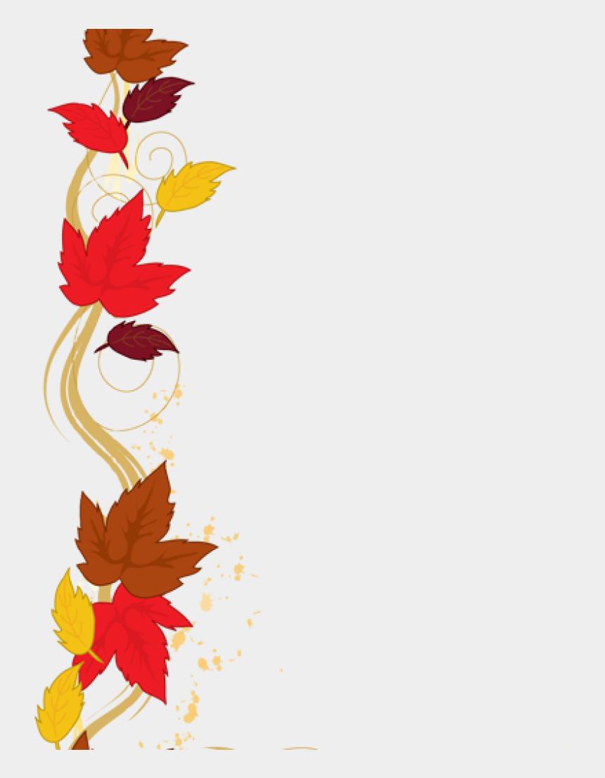preschool clip art, Cartoons - Fall Border Clipart Fall Leaves Border Clipart Clipart - Thanksgiving Fall Border Clipart