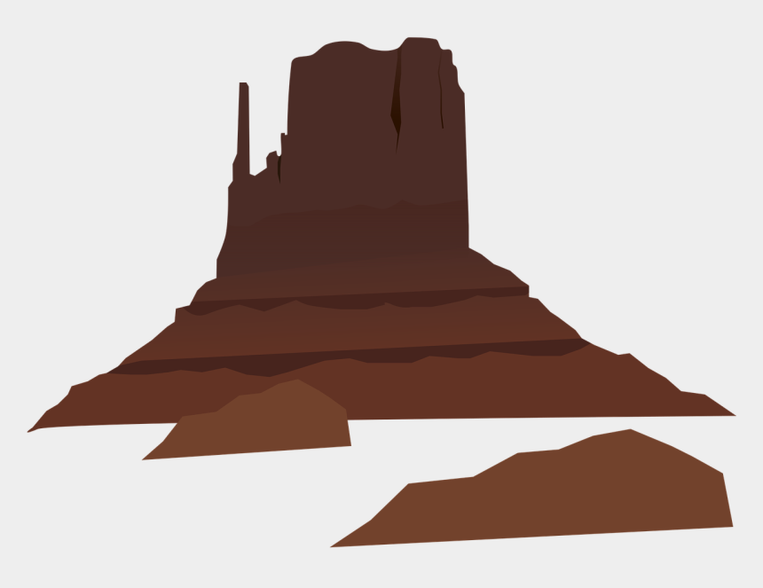 mountain clip art, Cartoons - Mountain Free To Use Clipart - Desert Mountain Vector Png