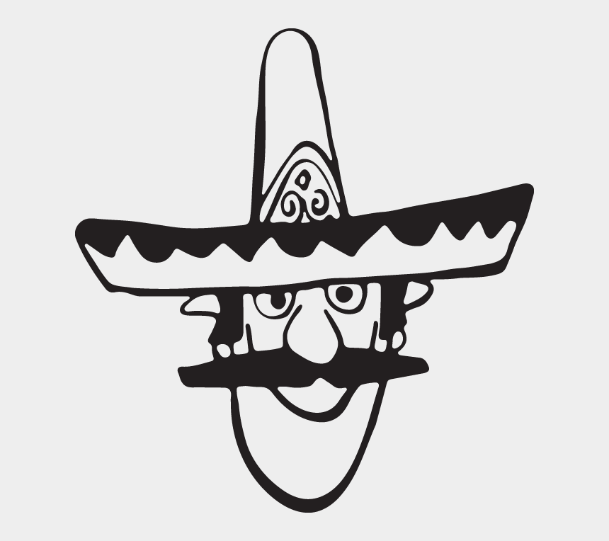 Mexican cactus with hat maricachi and guitar Vector Image
