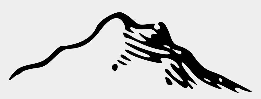 mountain clip art, Cartoons - Mountains Free Mountain Clip Art Clipart - Cartoon Mountains Black And White