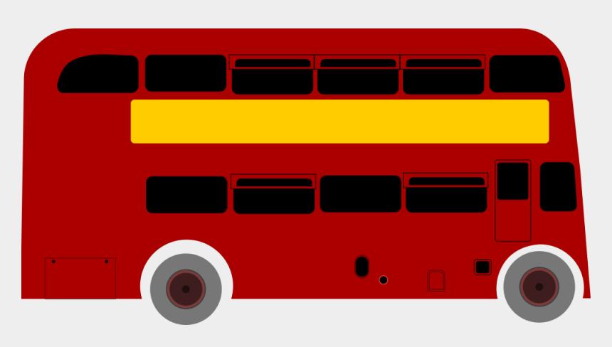 bus clip art, Cartoons - Double Deck Bus - Double Decker Bus Animation