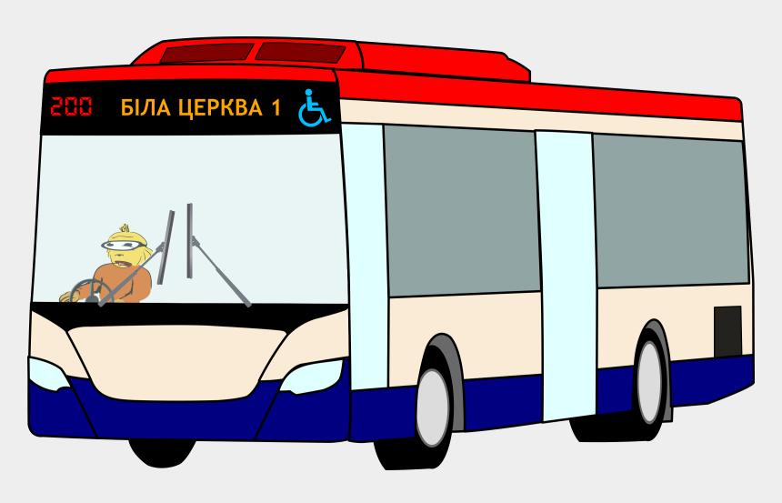 bus clip art, Cartoons - Rapid Kl Bus Png