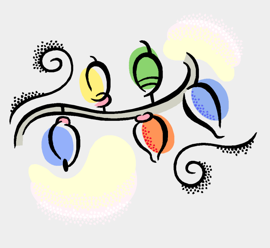 christmas lights clip art, Cartoons - Pin Town Council Clip Art - Christmas Lights Clipart