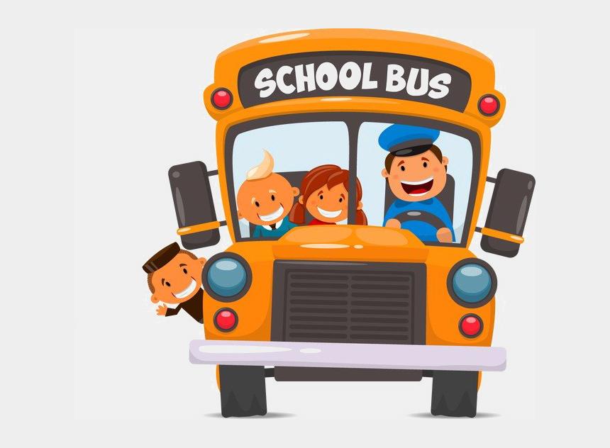 bus clip art, Cartoons - School Bus Png Photos - School Bus Vector Png