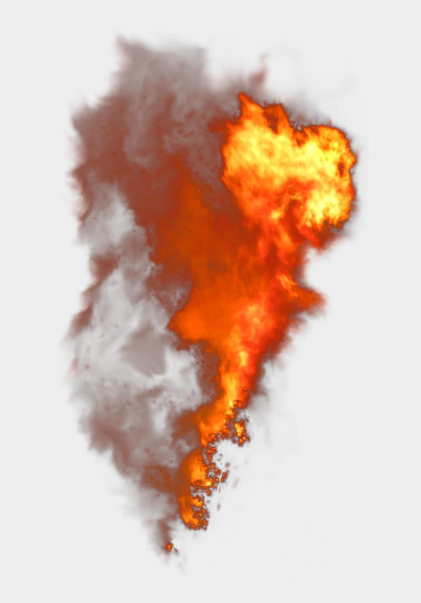 fire clip art, Cartoons - Fire And Smoke Clipart - Transparent Background Fire Smoke Png
