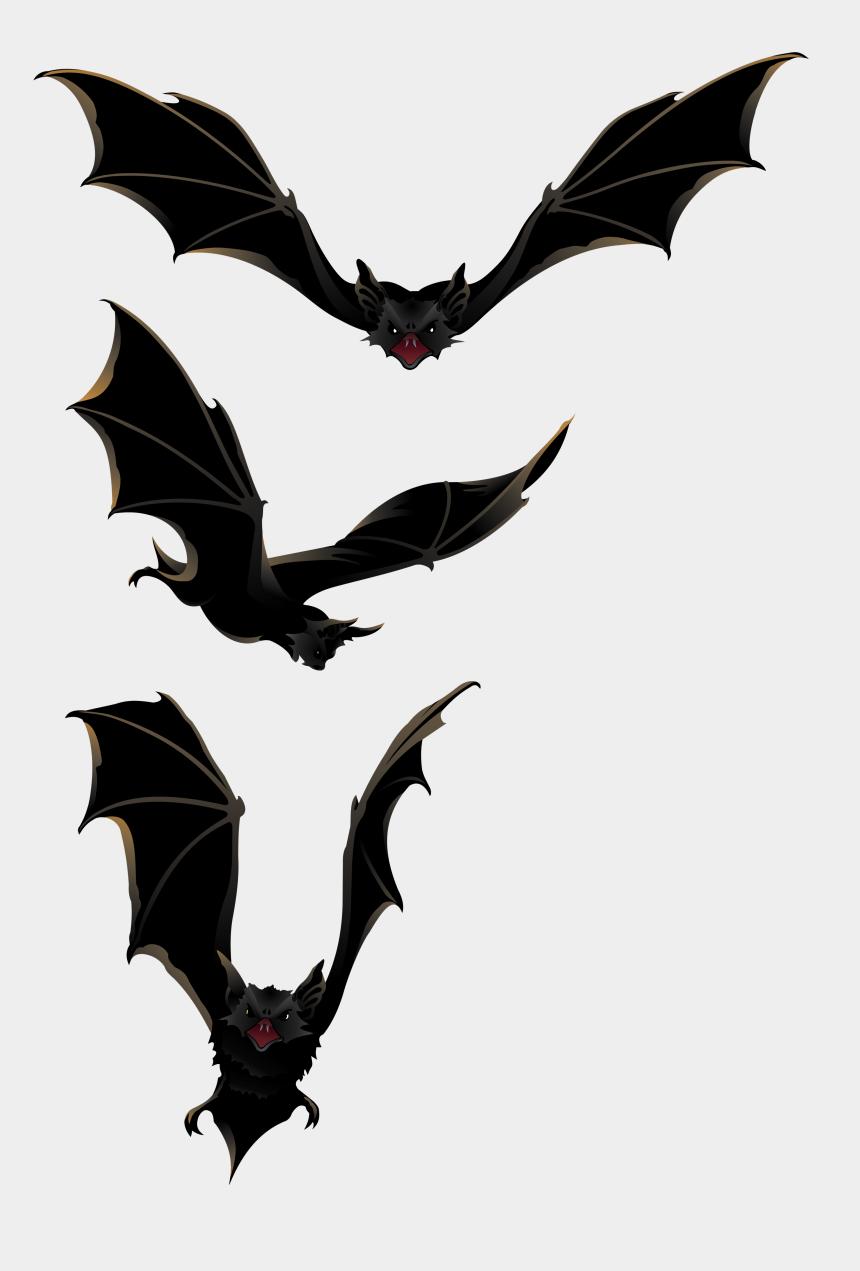 bat clip art, Cartoons - Bats - Clipart Library - Halloween Bats Png