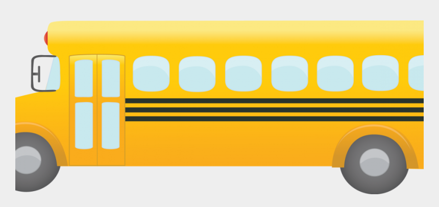 bus clip art, Cartoons - Yellow Bus Png 21 - Transparent Background Bus At School