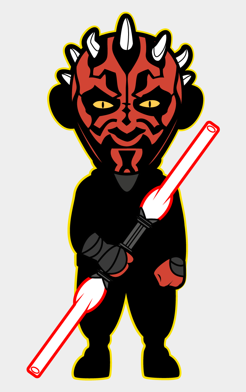 star wars clip art, Cartoons - Star Wars Kawaii Saga - Star Wars Kawaii Darth Maul