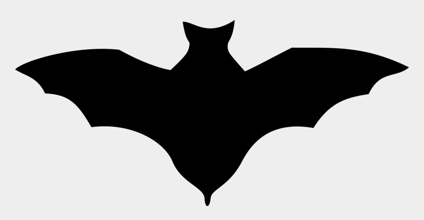 bats clipart, Cartoons - Clipart Bat Plain Black - Desene De Halloween Lilieci