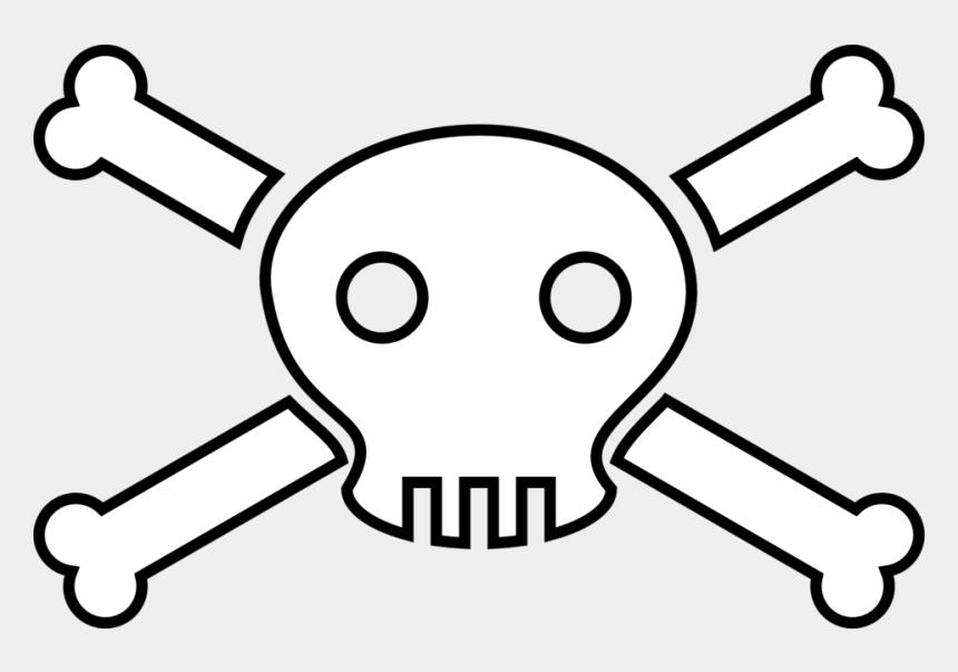 skull clip art, Cartoons - And Cross Bones Free Download Best X - Death Clipart