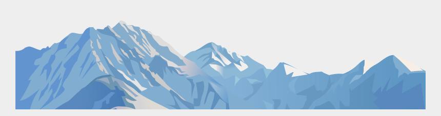 mountain clip art, Cartoons - Snowy Mountain Transparent Clip Art Image - Clipart Mountains Transparent Background